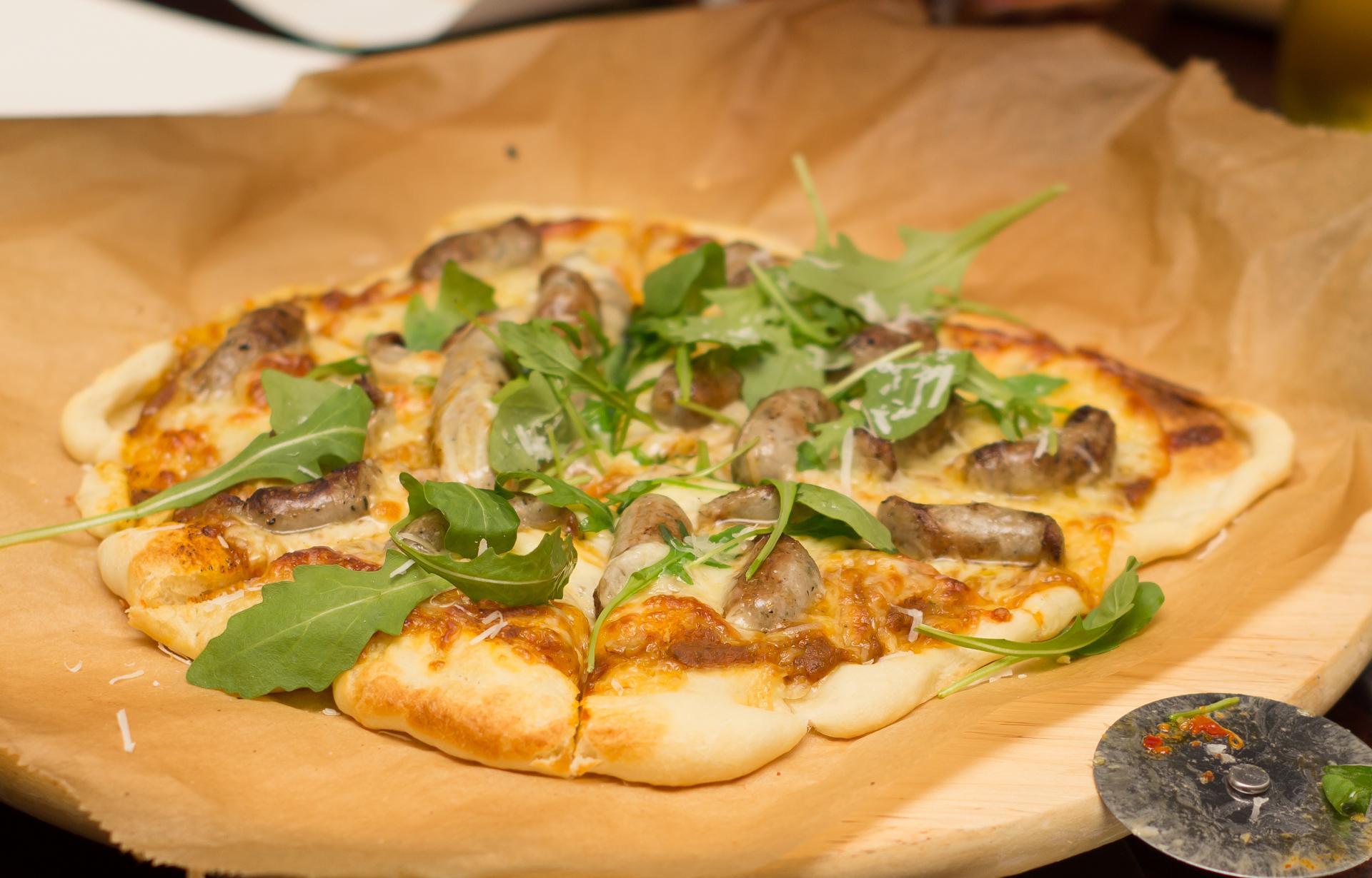 Pizza Niemiecka z serii Pizza Rustica