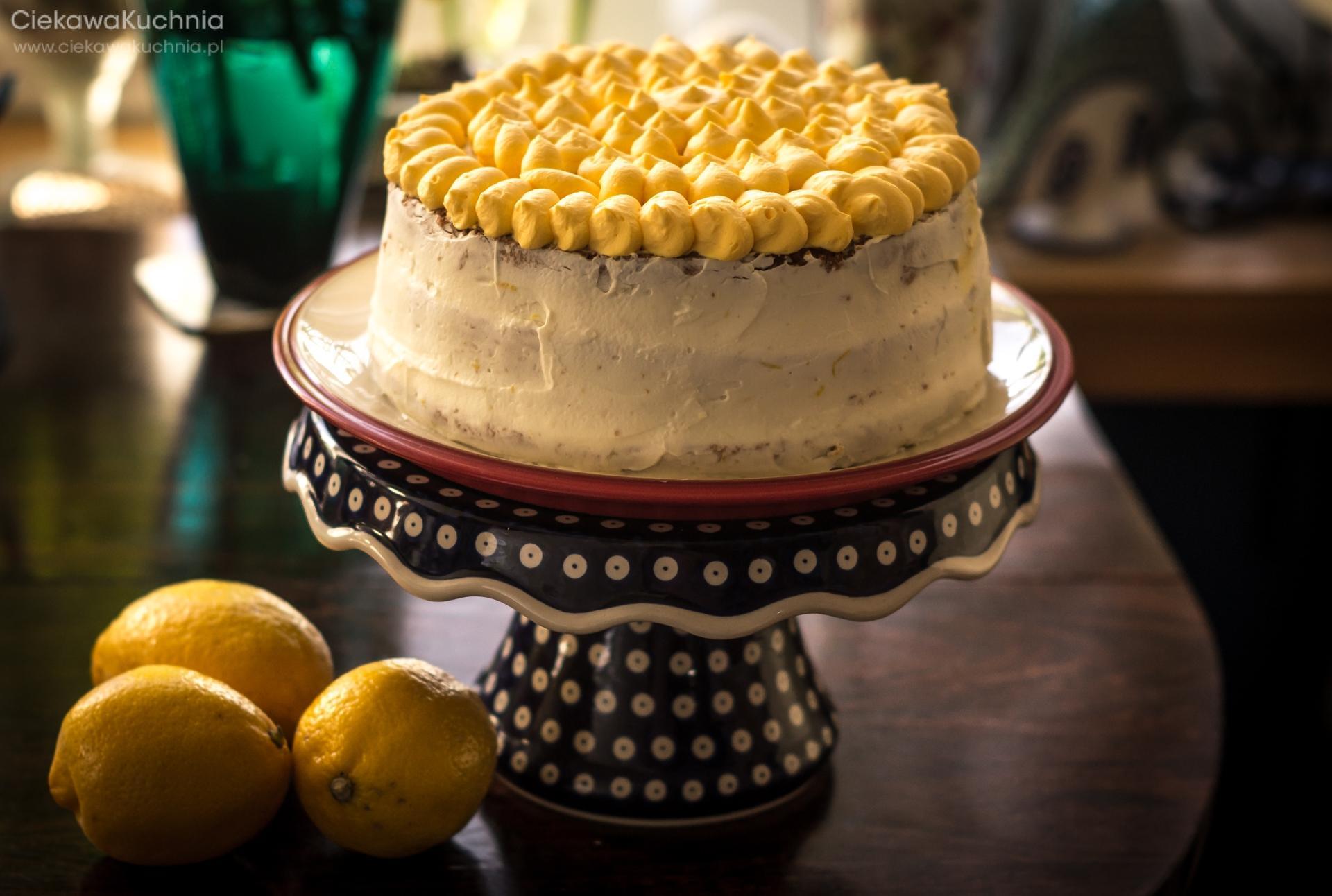 Wiosenny Tort Cytrynowy